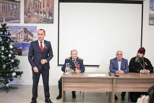 Свой самый главный документ школьники Геленджика получили в Греческом культурном центре города