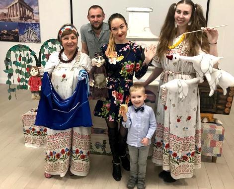В Греческом культурном центре Геленджика заработал Театр кукол