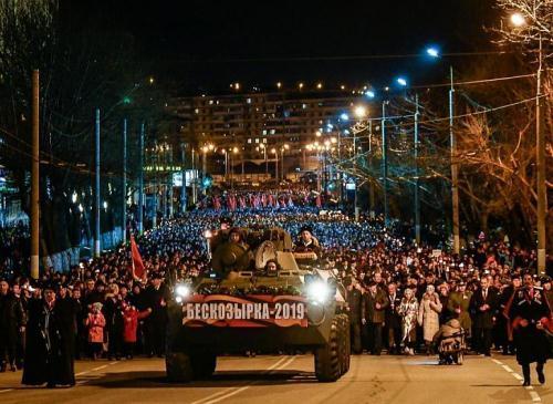 Всероссийская патриотическая акция «Бескозырка» прошла в Новороссийске