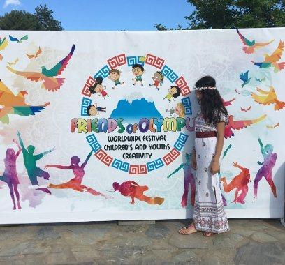 Гречанка из Ставрополя стала лауреатом Международного фестиваля «Друзья Олимпа»