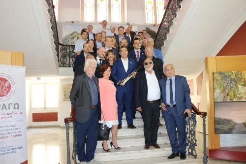 Премьер-министр Греции встретился с понтийскими организациями и кафедрой понтийских исследований университета им. Аристотеля