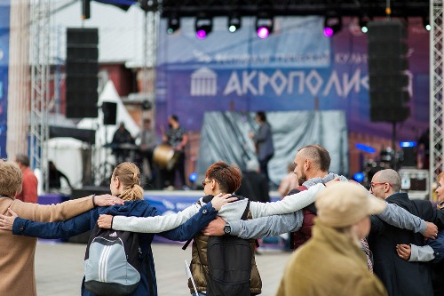 """Festival of Greek culture """"AKROPOLIS"""" in Moscow September 16, 2017"""