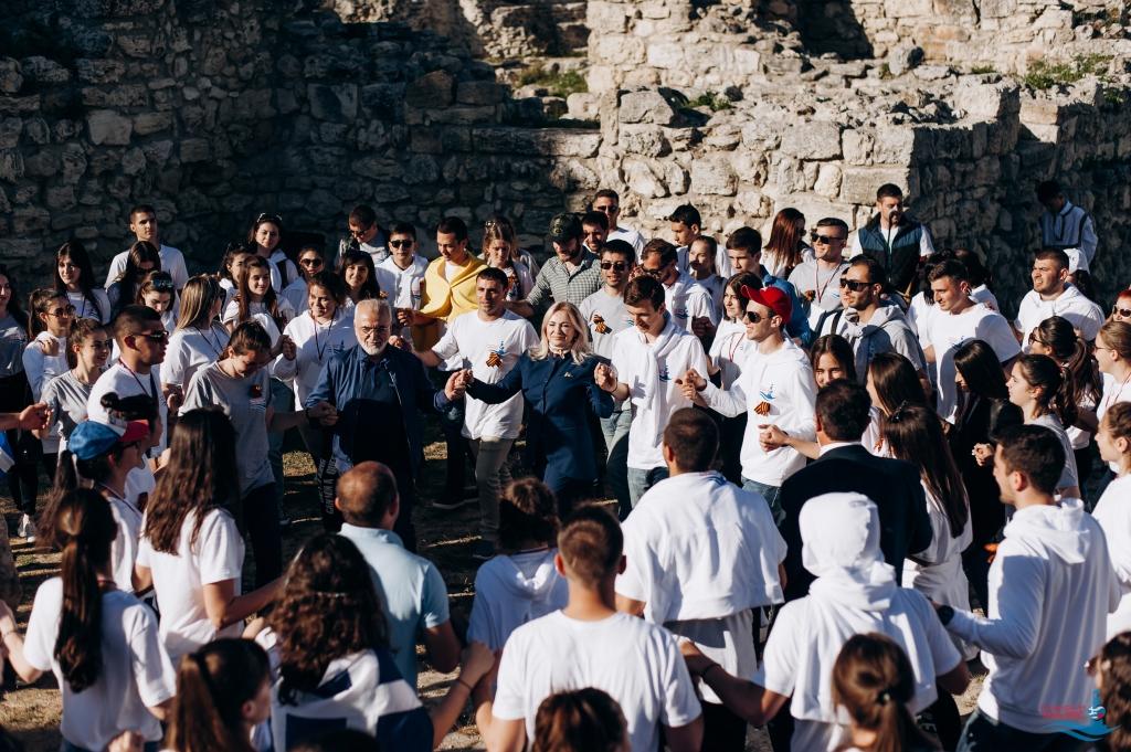 Второй Всероссийский межнациональный молодежный фестиваль «Крымский маяк 2.0», Херсонес Таврический. День 1, 29 апреля 2018