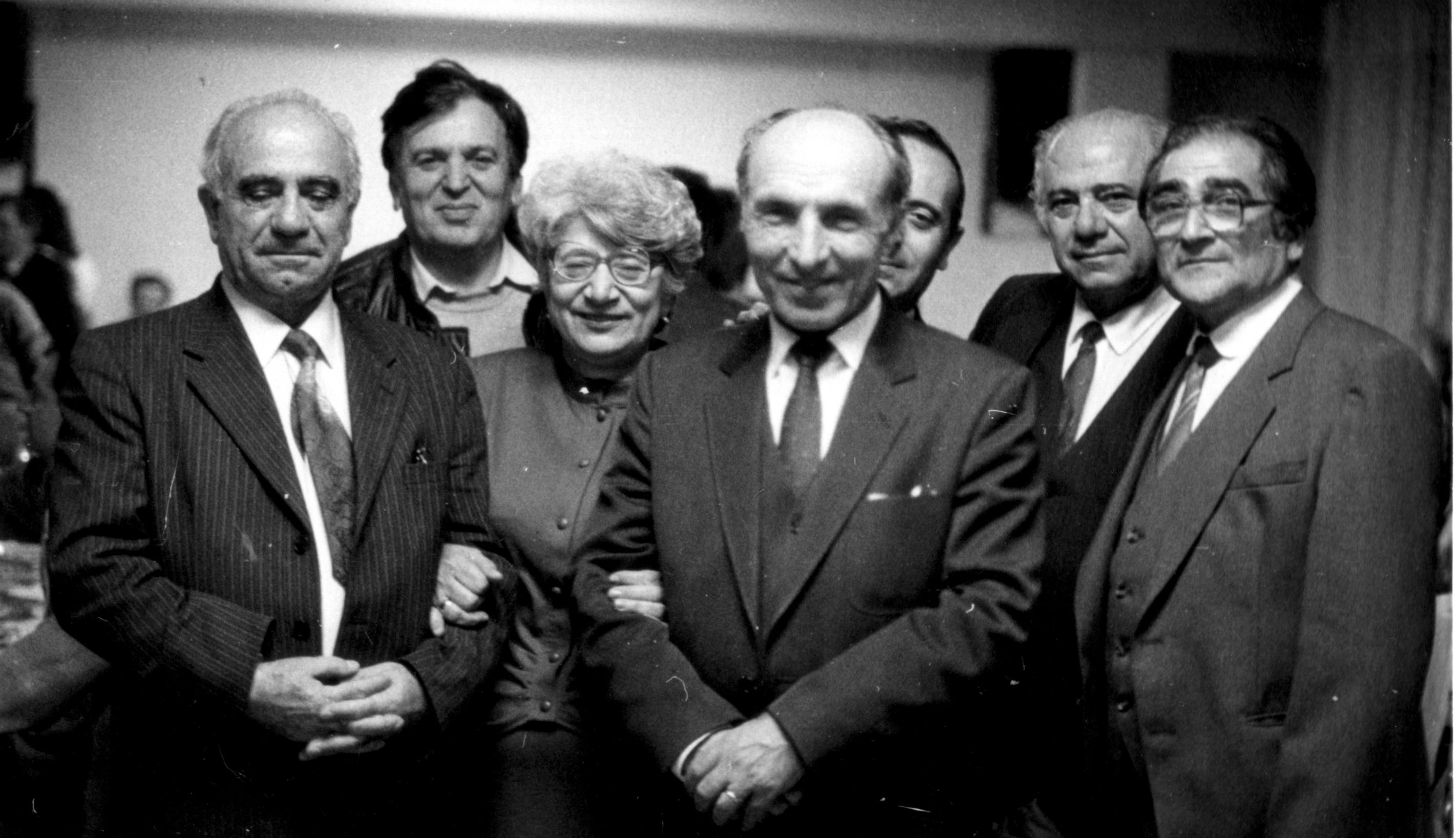1991 год. Первый учредительный съезд греков СССР в Геленджике