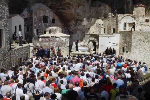 2011 год. Паломничество в монастырь Панагия Сумела