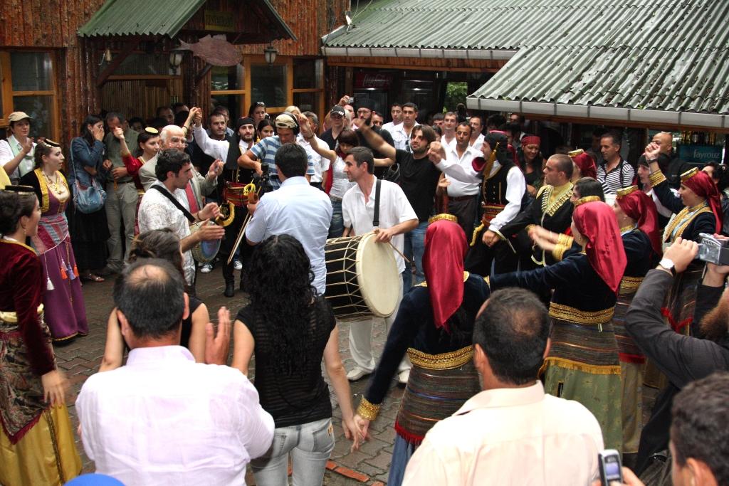 2008 год. Паломничество в монастырь Панагия Сумела