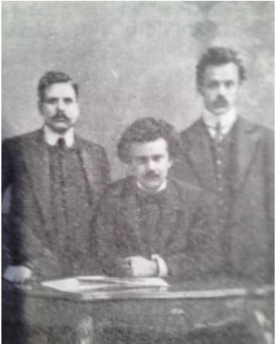 Георгий Георгиевич Сарандинаки (в центре). Одесса, 1904-1905 год