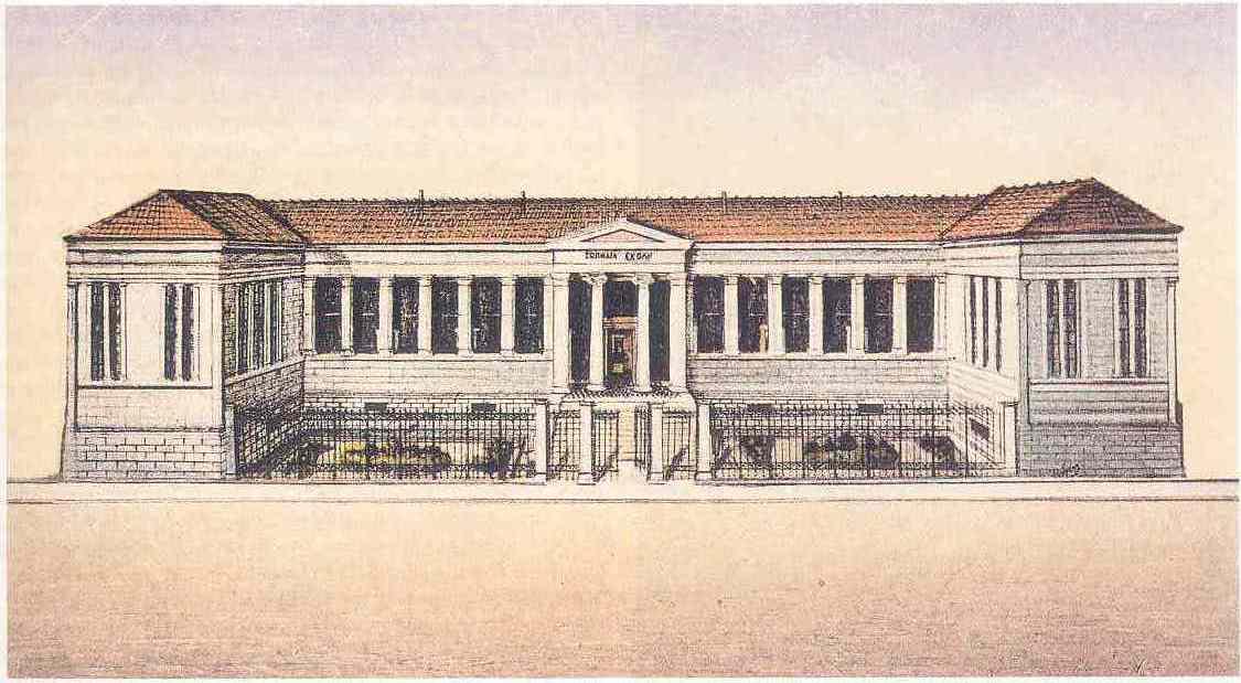 Зосимовская школа в XIX веке